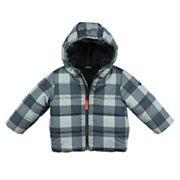 Toddler Boy OshKosh B'gosh® Midweight Buffalo Check Jacket