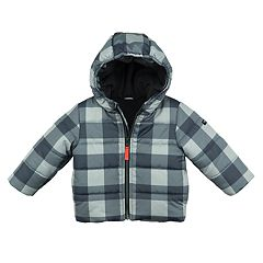 Toddler Boy OshKosh B'gosh® Midweight Buffalo Check Jacket