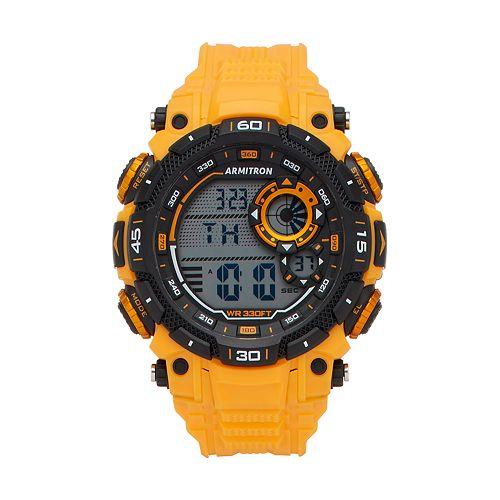 Armitron Unisex Digital Chronograph Sport Watch - 40/8397YLW