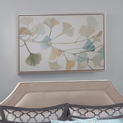 Madison Park Signature Spring Ginkgo Leaves Framed Wall Art