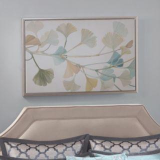 Madison Park Signature Spring Ginkgo Leaves Framed Wall Art