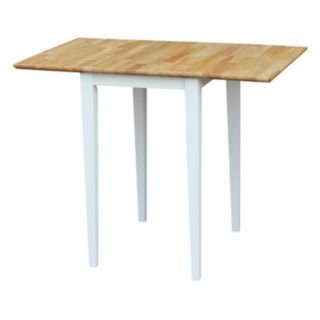 International Concepts Dual Drop Leaf Dining Table
