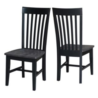 International Concepts Cosmo Mission Dining Chair 2-piece Set