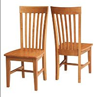 International Concepts Cosmo Mission Dining Chair 2 pc Set