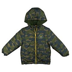 Toddler Boy OshKosh B'gosh® Heavyweight Camouflaged Jacket