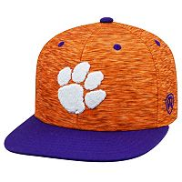 Youth Top of the World Clemson Tigers Energy Snapback Cap