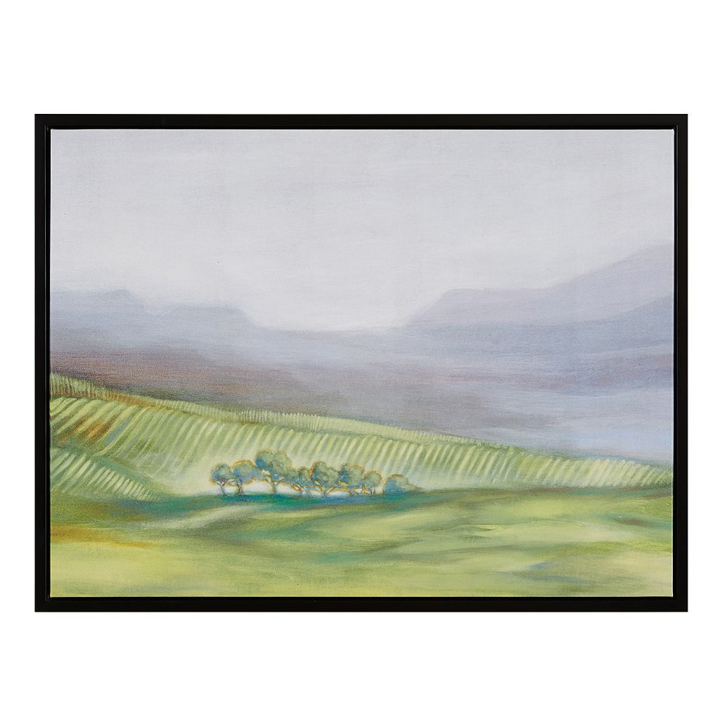 Madison Park Signature Hills Of Green Roll Framed Wall Art