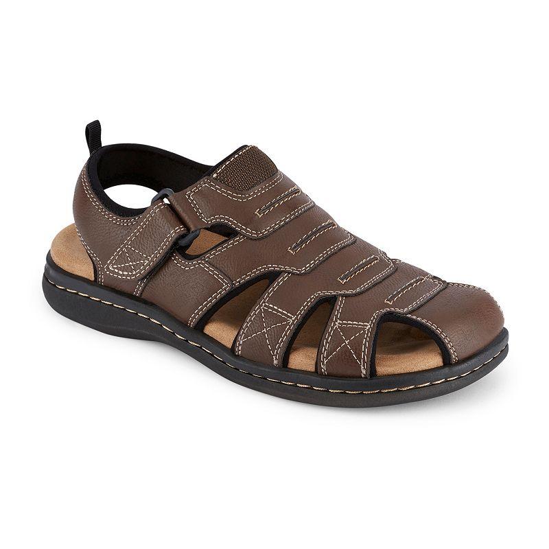 Dockers Searose Outdoor Men's Fisherman Sandals. Size: Medium (8). Med Red