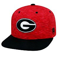 Youth Top of the World Georgia Bulldogs Energy Snapback Cap