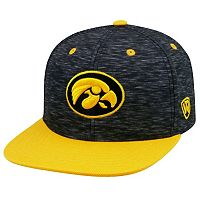 Adult Top of the World Iowa Hawkeyes Energy Snapback Cap