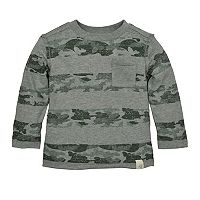 Toddler Boy Burt's Bees Baby Organic Camouflage Striped Tee