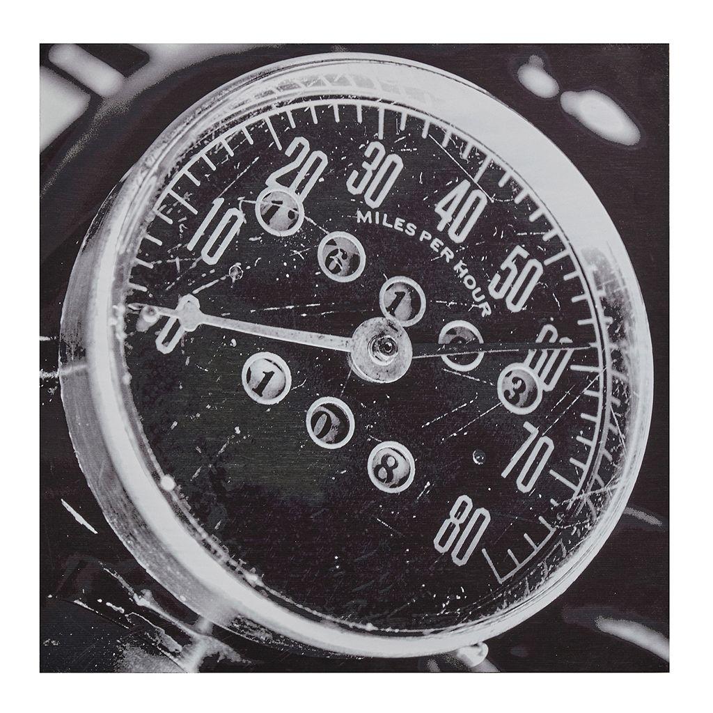 INK+IVY Speedometer Box Wall Art