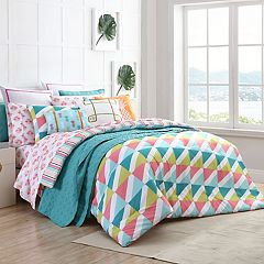 VCNY 2-piece Tropical Clairebella Comforter Set