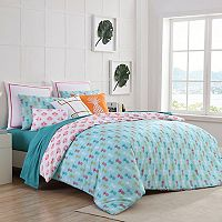VCNY 2 pc Tropical Clairebella Duvet Cover Set
