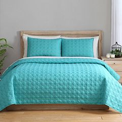 VCNY 2 pc Clairebella Reversible Coverlet Set