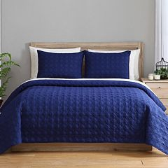 VCNY 2-piece Clairebella Reversible Coverlet Set