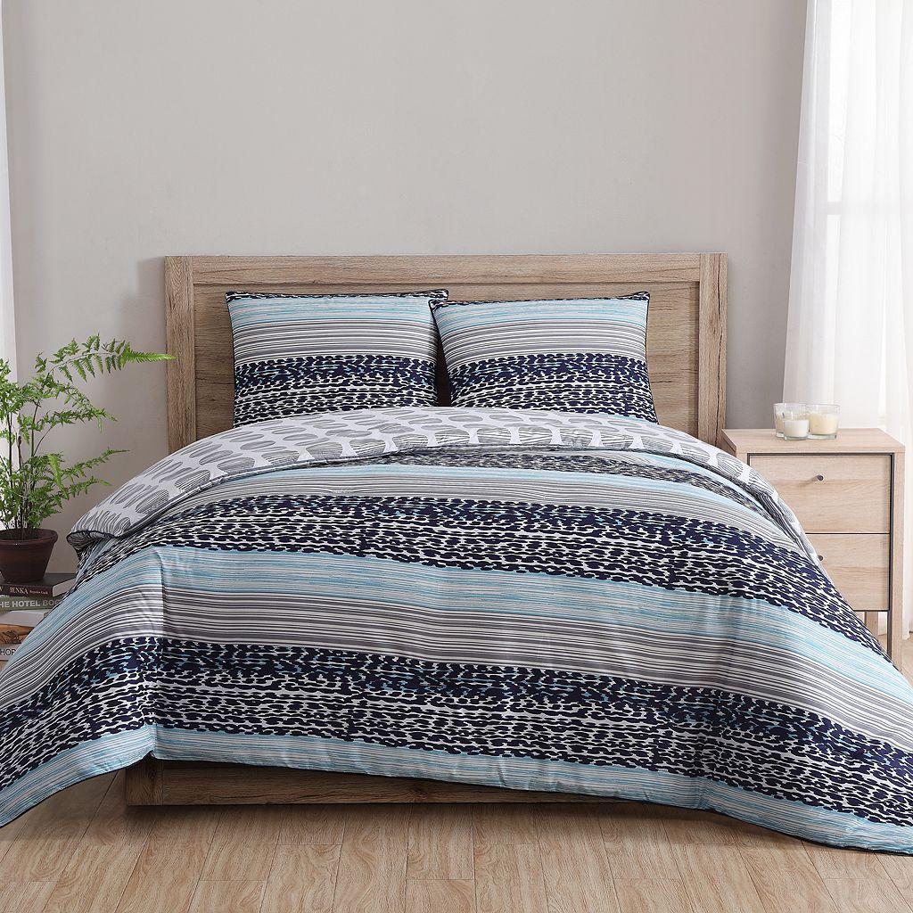 VCNY 2-piece Fractal Clairebella Comforter Set