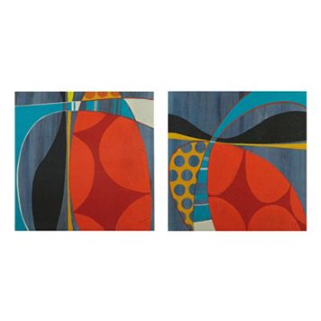 INK+IVY Contempo Pop Canvas Wall Art 2-piece Set