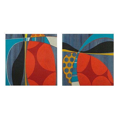 INK+IVY Contempo Pop Canvas Wall Art 2-piece Set