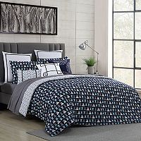 VCNY 2 pc Fractal Clairebella Duvet Cover Set