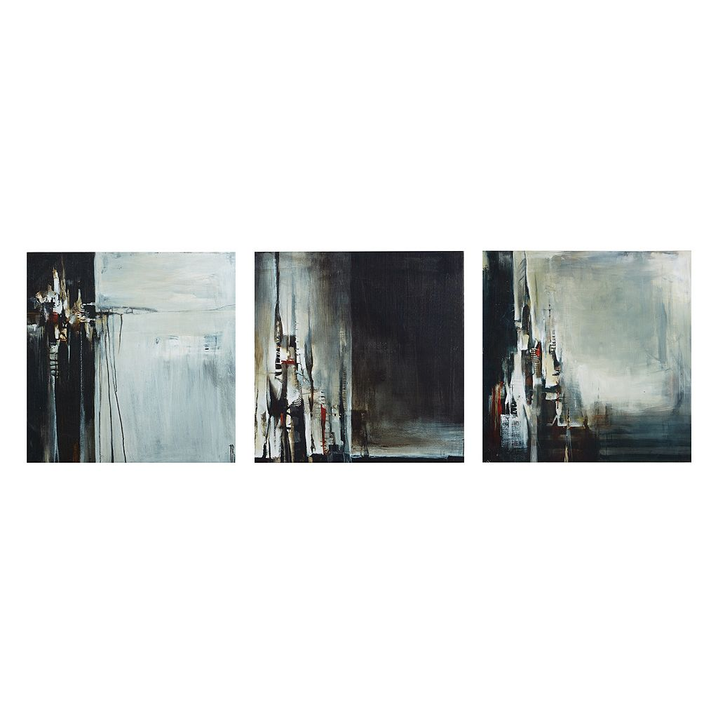 INK+IVY Into The City Canvas Wall Art 3-piece Set