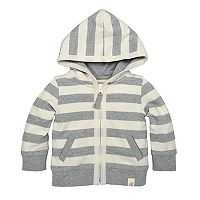 Toddler Boy Burt's Bees Baby Organic Striped Hoodie