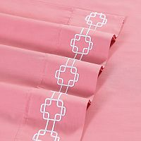 VCNY 4-piece Clairebella Solid Sheet Set