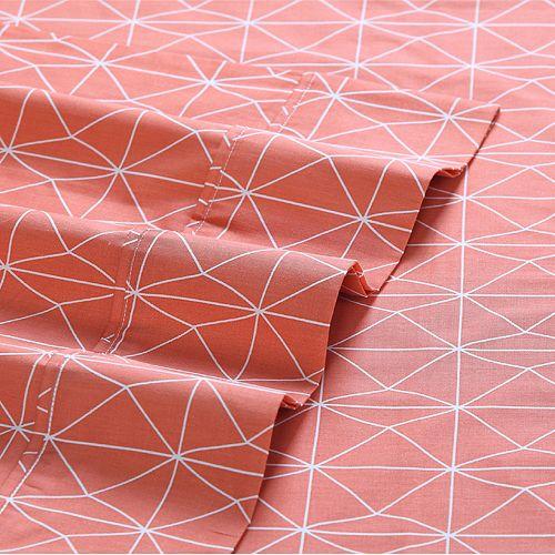 VCNY Geometric Clairebella Sheet Set