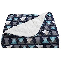 VCNY Clairebella Sherpa Fleece Throw