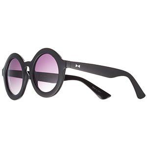 LC Lauren Conrad Sushi 47mm Round Gradient Sunglasses