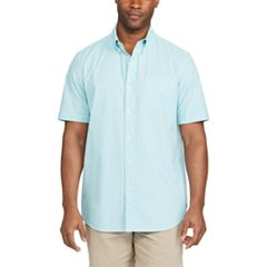 Big & Tall Chaps Classic-Fit Poplin Button-Down Shirt