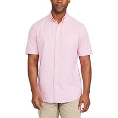 Big & Tall Chaps Classic-Fit Poplin Button-Down Shirt