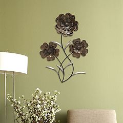 stratton home decor metal flower wall decor - Metal Flower Wall Decor