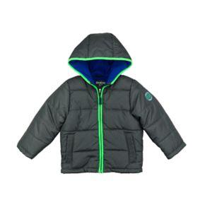 Boys 4-7 Carter's Heavyweight Colorblock Puffer Jacket