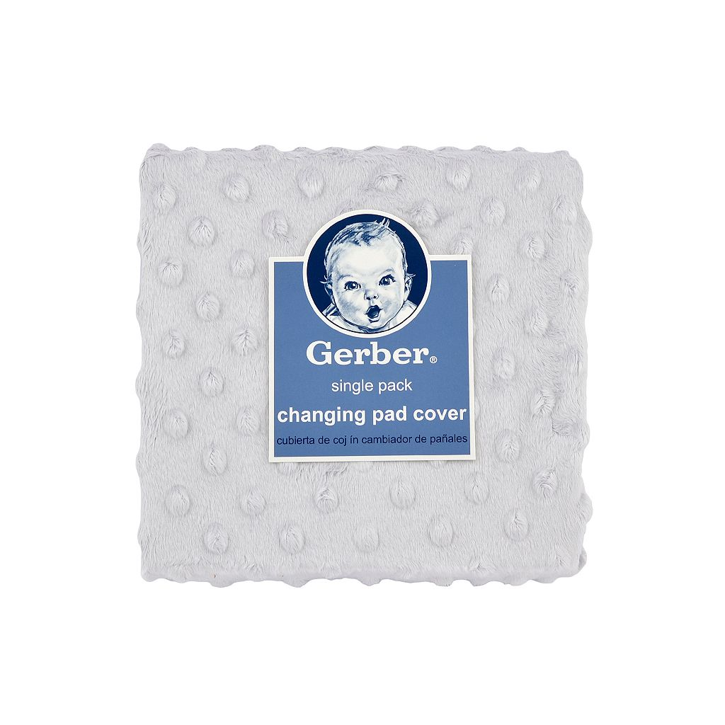 Gerber Popcorn Plush Changing Pad Cover
