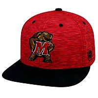 Youth Top of the World Maryland Terrapins Energy Snapback Cap