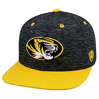 Youth Top of the World Missouri Tigers Energy Snapback Cap