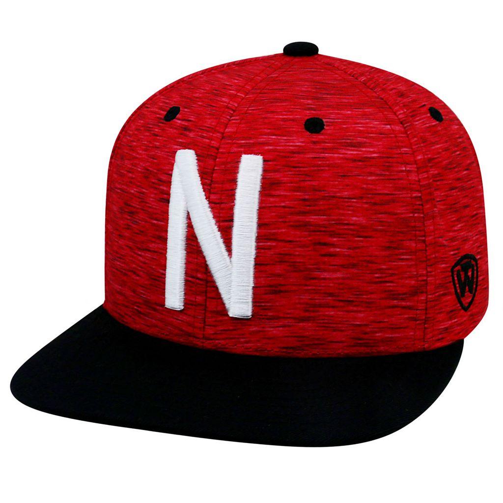 Adult Top of the World Nebraska Cornhuskers Energy Snapback Cap