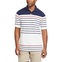 Big & Tall Chaps Classic-Fit Striped Performance Polo