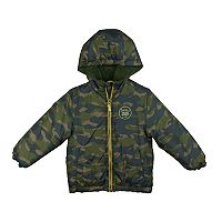 Boys 4-7 Carter's Camouflage Midweight Jacket