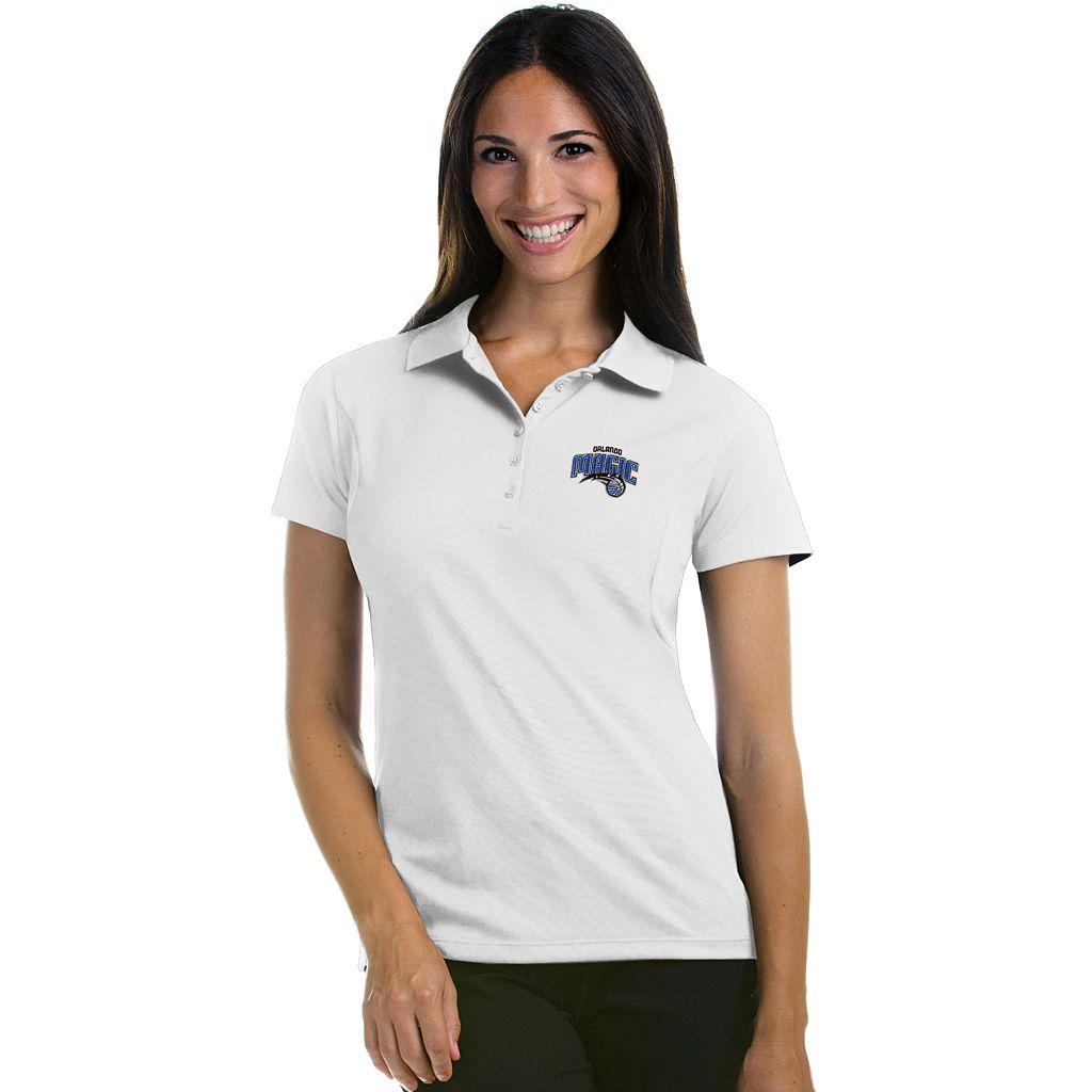 Women's Antigua Orlando Magic Pique Xtra-Lite Polo