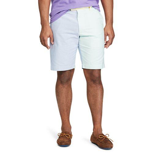 Big & Tall Chaps Classic-Fit Colorblock Oxford Shorts