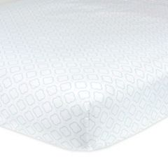 Gerber Patterned Fitted Crib Sheet