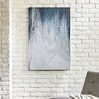INK+IVY Abstracted Chevron Canvas Wall Art