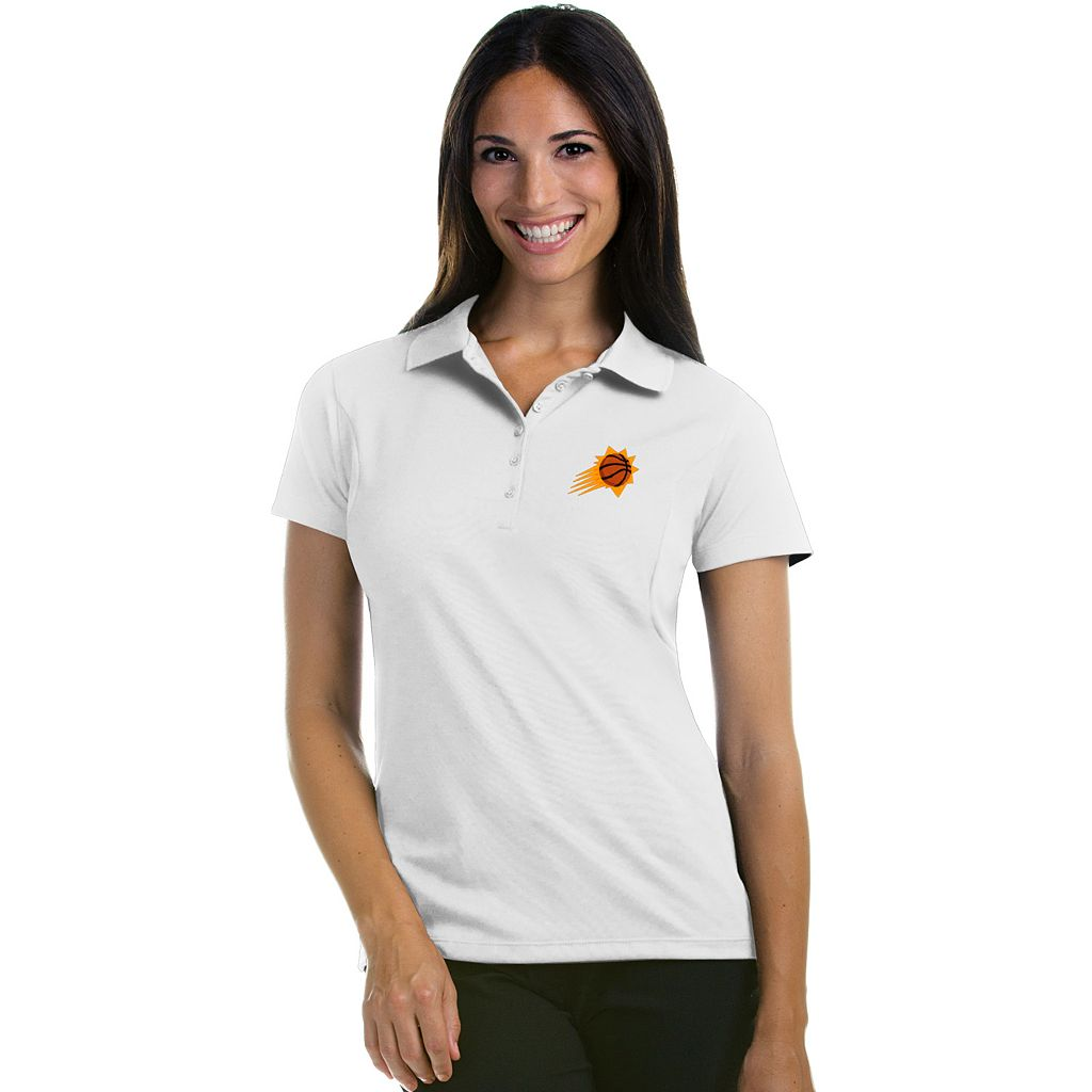 Women's Antigua Phoenix Suns Pique Xtra-Lite Polo