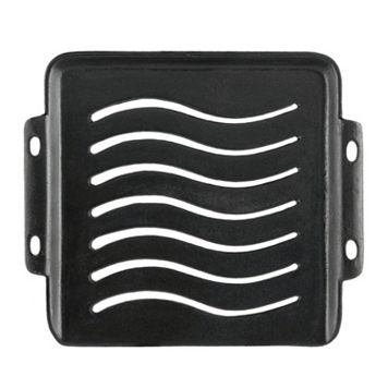 Mr. Bar-B-Q Square Cast-Iron Grill Topper