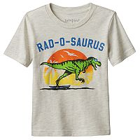 Toddler Boy Jumping Beans® Dinosaurs Slubbed Graphic Tee