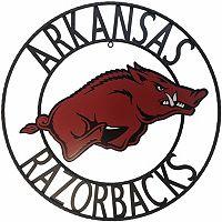 Arkansas Razorbacks 24-Inch Wrought Iron Wall Décor