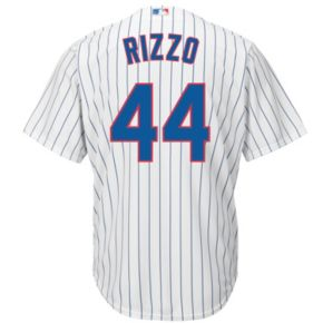 Big & Tall Majestic Chicago Cubs Anthony Rizzo Cool Base Replica Jersey