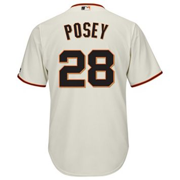 Big & Tall Majestic San Francisco Giants Buster Posey Cool Base Replica Jersey